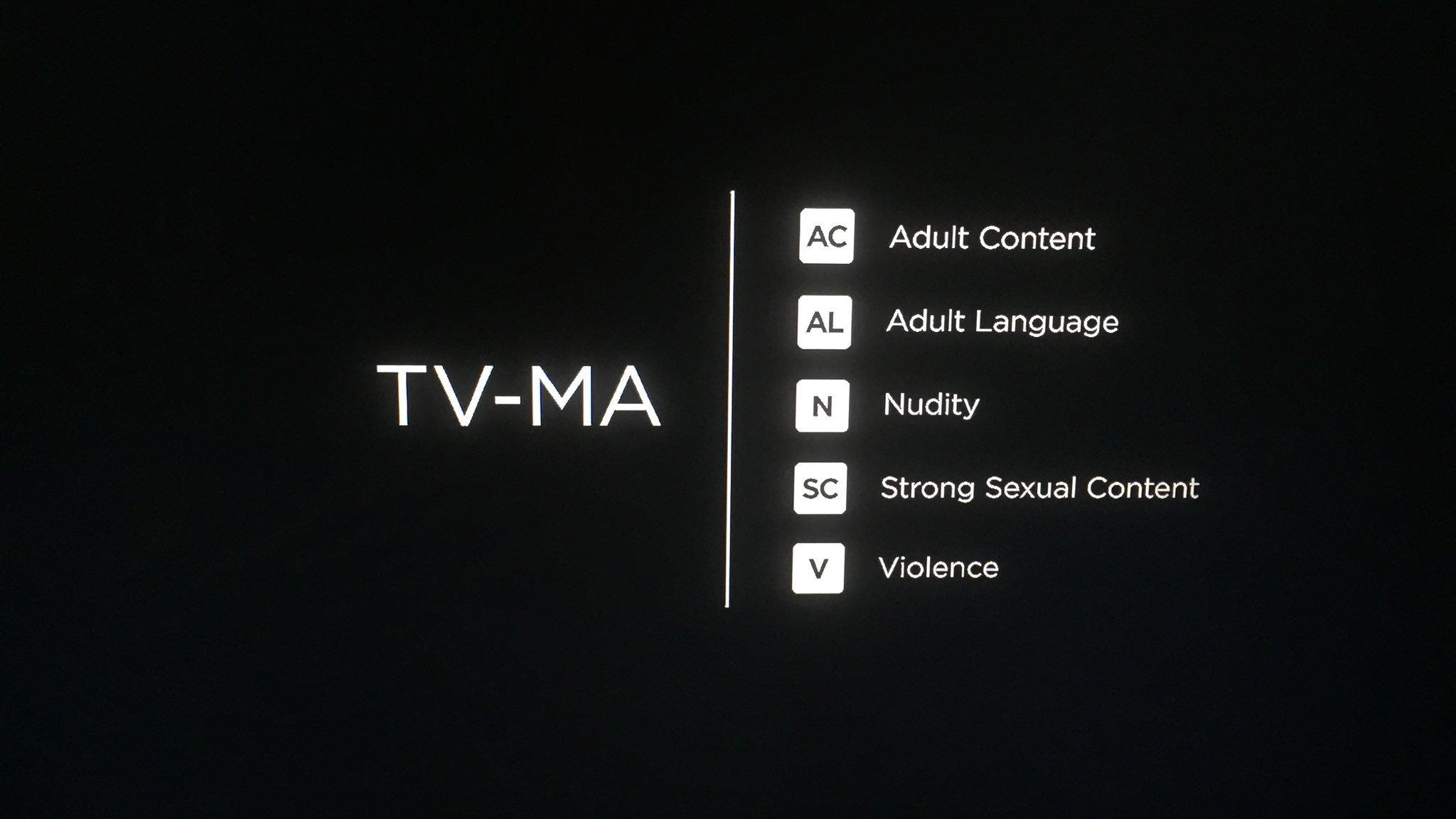TV-MA - AC AL N SC V
