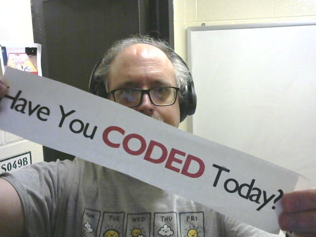 Have You **Coded** Today?