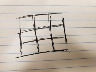 3x3 Square
