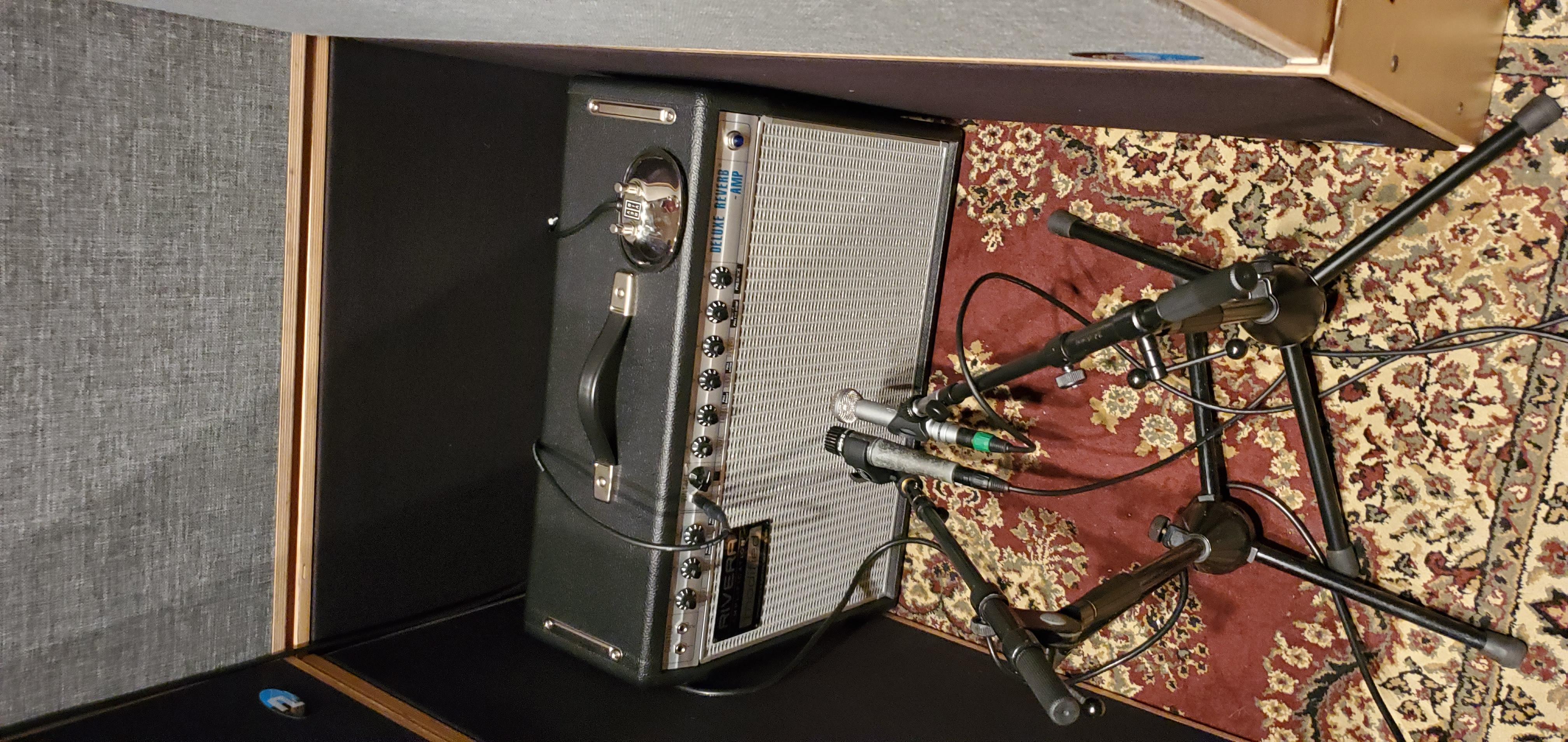 Rivera-Modified Fender Deluxe Reverb